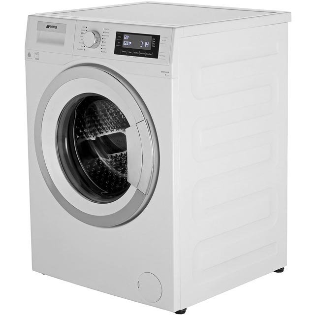 Smeg WMF916AUK 9Kg Washing Machine - White / Chrome - WMF916AUK_WH - 2