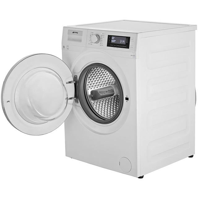Smeg WMF916AUK 9Kg Washing Machine - White / Chrome - WMF916AUK_WH - 3