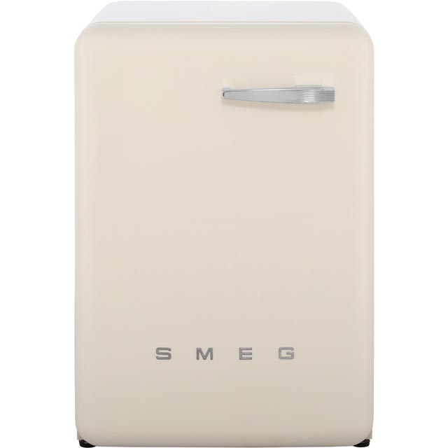 Smeg 50's Retro WMFABCR-2 7Kg Washing Machine with 1400 rpm - Cream - A++ Rated - WMFABCR-2_CR - 1