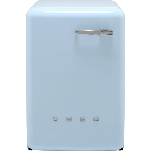 Smeg 50's Retro WMFABPB-2 7Kg Washing Machine with 1400 rpm - Pastel Blue - A++ Rated - WMFABPB-2_BL - 1