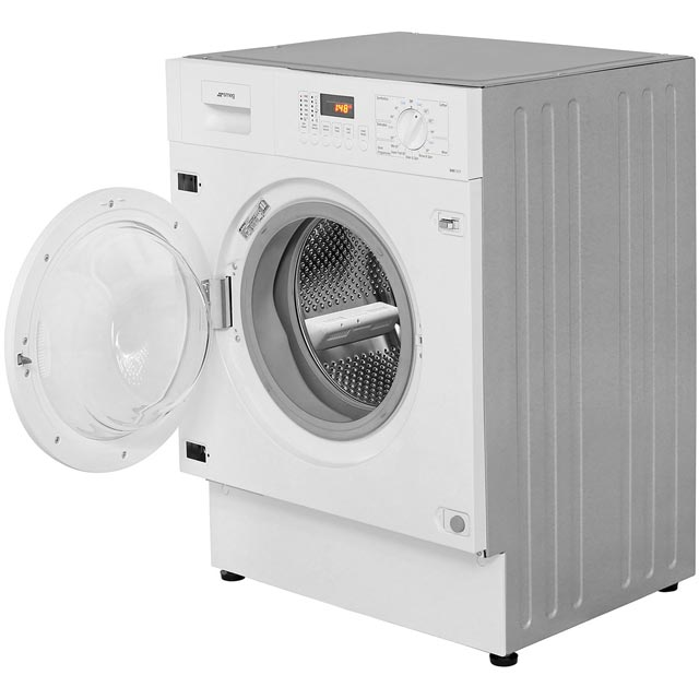 Smeg Cucina WMI12C7 Built In 7Kg Washing Machine - White - WMI12C7 - 4