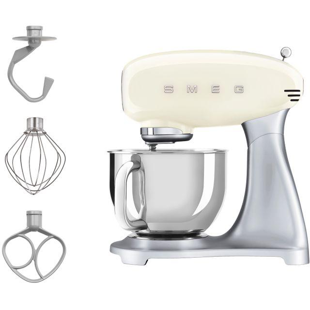Smeg SMF02CRUK Stand Mixer - Cream