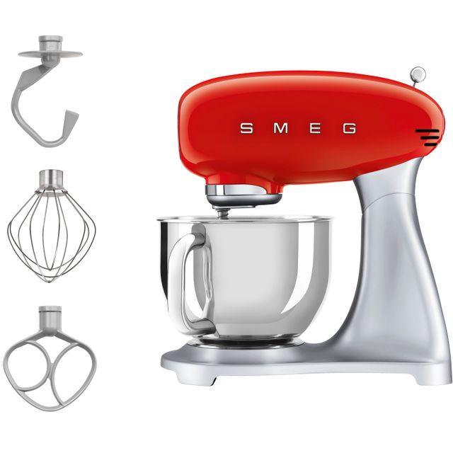 Smeg SMF02RDUK Stand Mixer - Red