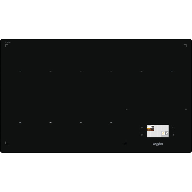 Whirlpool W Collection SMF9010C/NE/IXL 86cm Induction Hob - Black - SMF9010C/NE/IXL_BK - 1