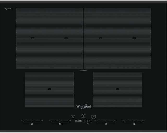 Whirlpool 65cm Induction Hob - Black