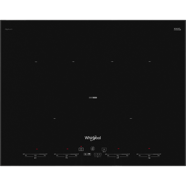 Whirlpool SMO654OF/BT/IXL 65cm Induction Hob - Black - SMO654OF/BT/IXL_BK - 1