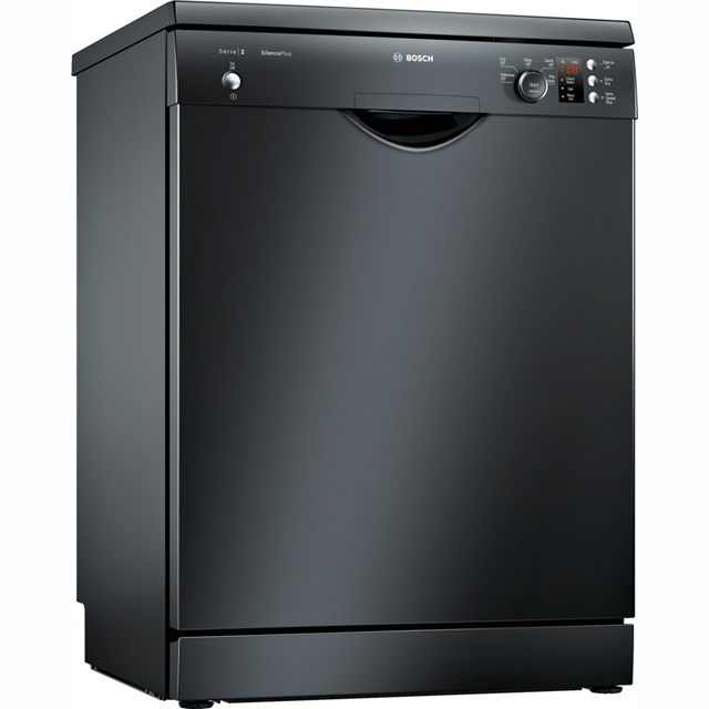 Bosch Serie 2 SMS25AB00G Standard Dishwasher - Black - A++ Rated