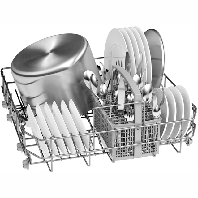 Bosch Serie 2 SMS25AW00G Standard Dishwasher - White - SMS25AW00G_WH - 4