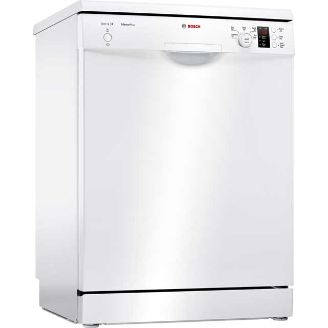 Bosch Serie 2 SMS25AW00G Standard Dishwasher - White Best Price, Cheapest Prices