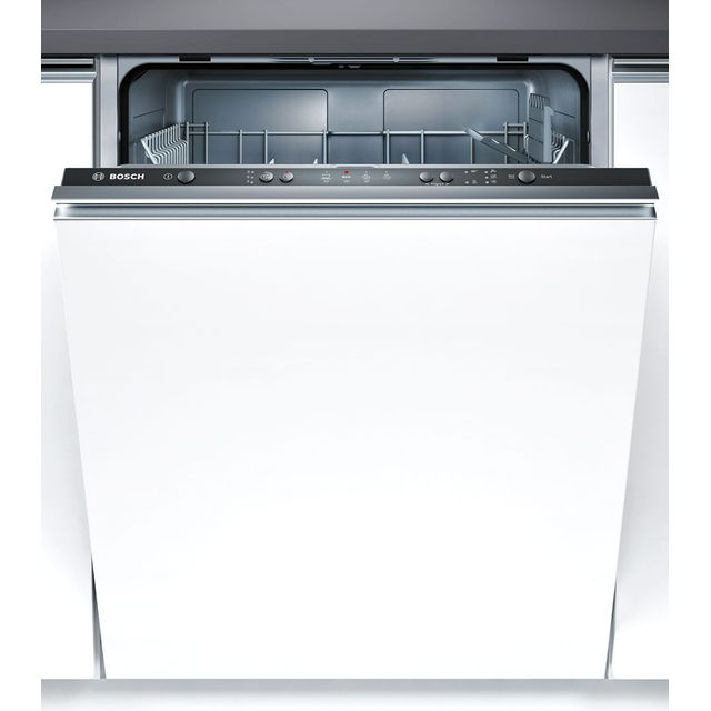 Bosch Serie 2 SMV40C30GB Built In Standard Dishwasher - Black - SMV40C30GB_BK - 1
