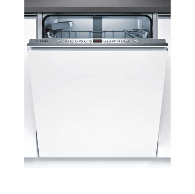 Bosch Serie 4 Fully Integrated Standard Dishwasher - Stainless Steel with Fixed Door Fixing Kit - A++ Rated