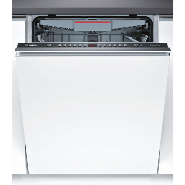 Bosch Serie 4 SMV46KX00G Fully Integrated Standard Dishwasher - Black Control Panel with Fixed Door Fixing Kit - A++ Rated - SMV46KX00G_BK - 1