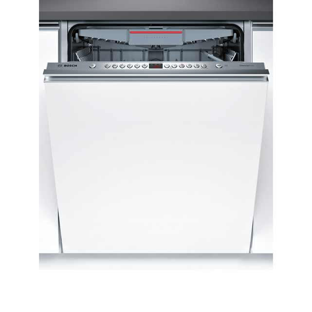 Bosch Serie 4 Fully Integrated Standard Dishwasher - Silver with Fixed Door Fixing Kit - A++ Rated