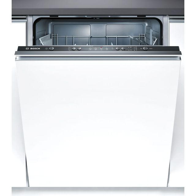 Bosch Serie 4 SMV50C10GB Built In Standard Dishwasher - Black - SMV50C10GB_BK - 1