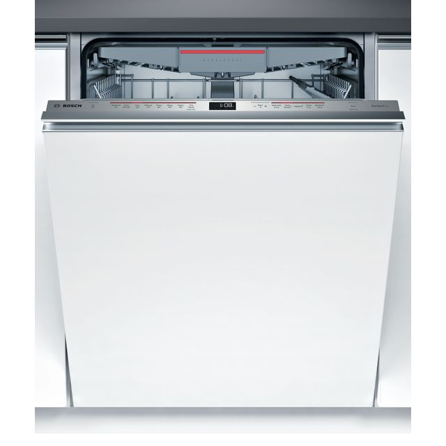 Bosch Serie 6 SMV68ND00G Fully Integrated Standard Dishwasher - Stainless Steel Control Panel