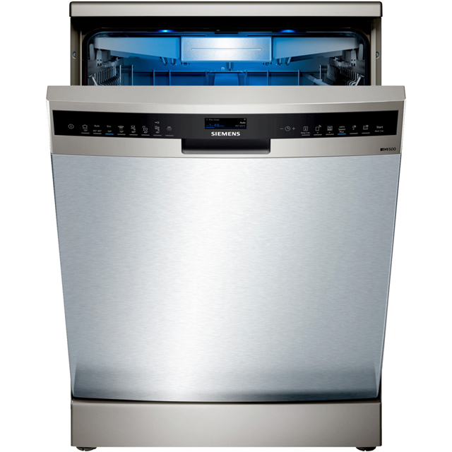 Siemens IQ-500 SN258I06TG Wifi Connected Standard Dishwasher - Stainless Steel - A+++ Rated - SN258I06TG_SS - 1
