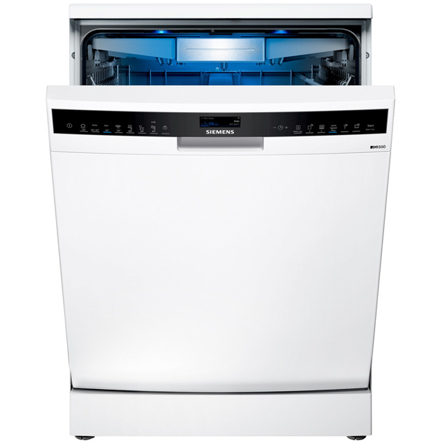 Siemens IQ-500 SN258W06TG Wifi Connected Standard Dishwasher - Stainless Steel - A+++ Rated