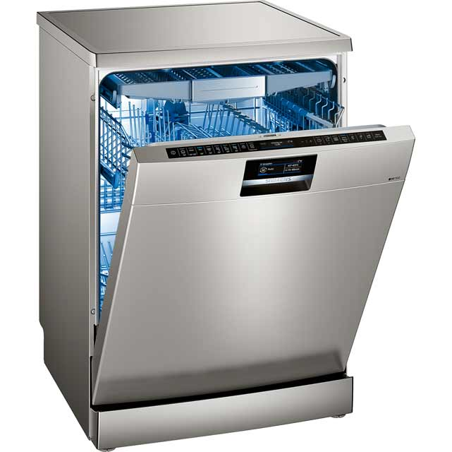 Siemens IQ-700 SN278I36TE Standard Dishwasher - Stainless Steel - A+++ Rated Best Price, Cheapest Prices