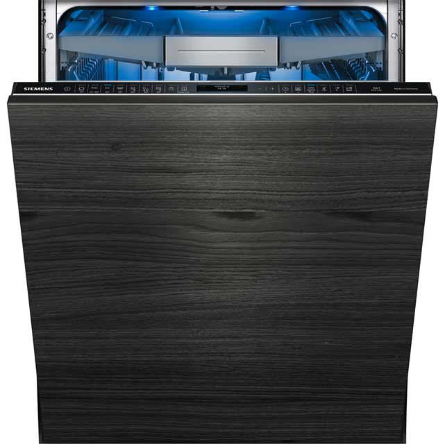 Siemens IQ-700 Fully Integrated Standard Dishwasher - Black with Fixed Door Fixing Kit - A+++ Rated
