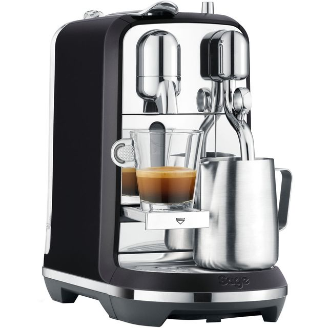 Nespresso by Sage Creatista Plus SNE800BTR Pod Coffee Machine - Black Truffle