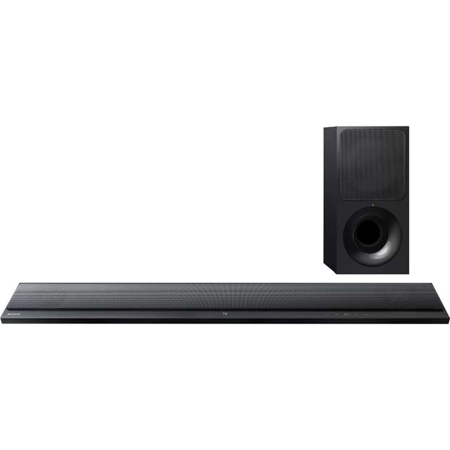 Sony HT-CT390 Bluetooth Soundbar with Wireless Subwoofer - Black