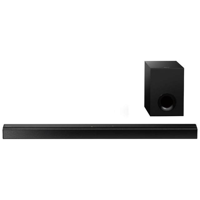 Sony HT-CT80 Bluetooth Soundbar with Wired Subwoofer - Black