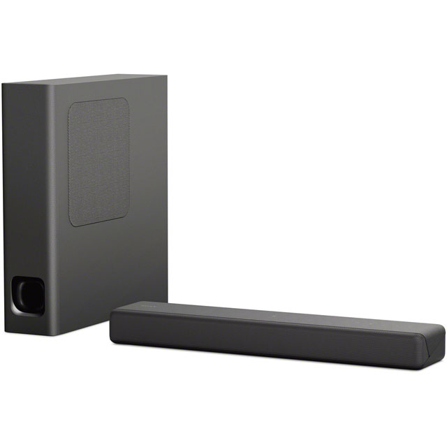 Sony HT-MT300 Bluetooth Soundbar with Wireless Subwoofer - Black - HT-MT300 - 1
