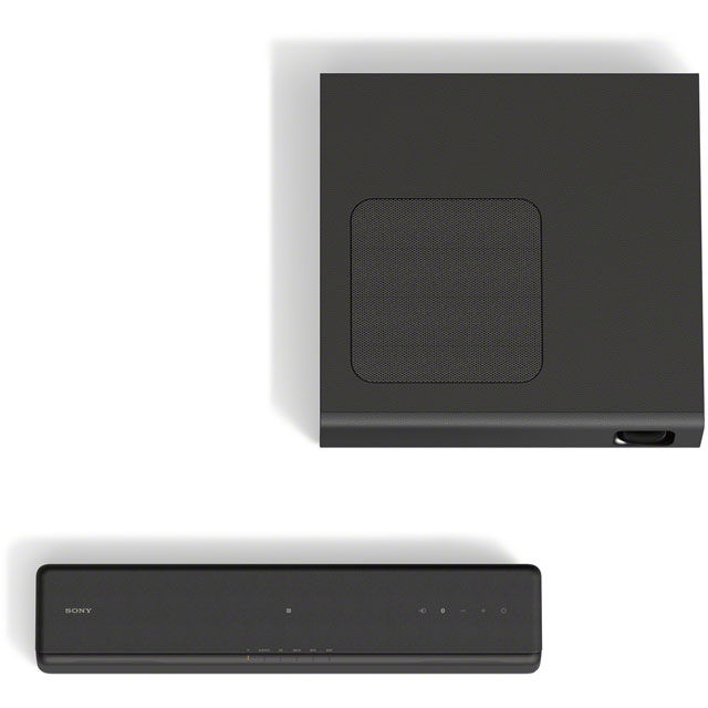 Sony HT-MT300 Bluetooth Soundbar with Wireless Subwoofer - Black - HT-MT300 - 3