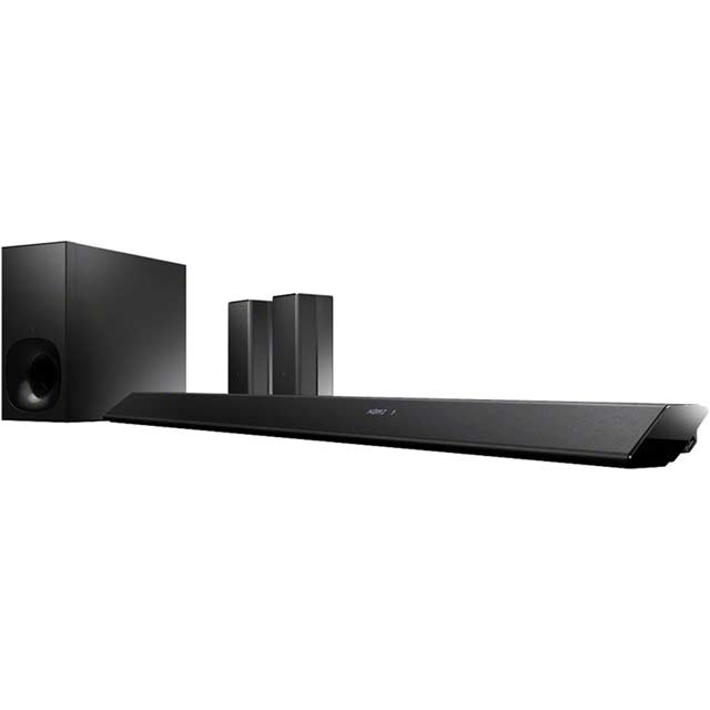 Sony HT-RT5 Smart Multiroom Bluetooth Soundbar with Wireless Subwoofer - Black