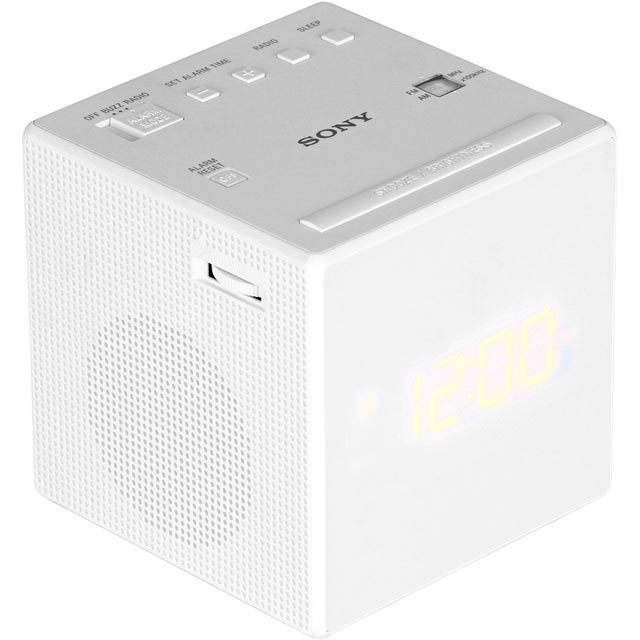 Sony Digital Radio in White