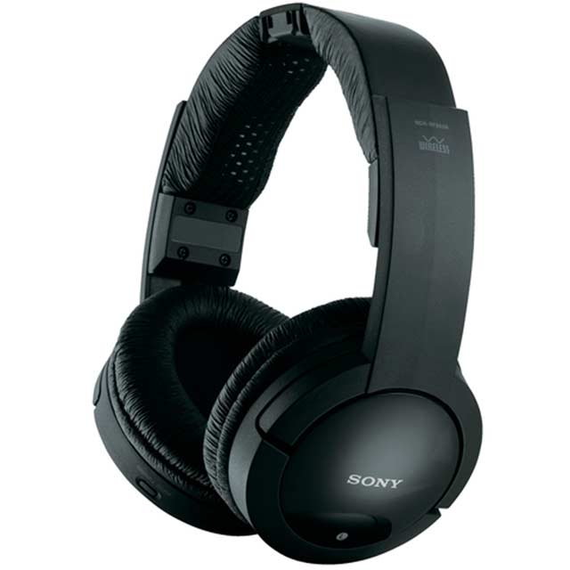 Sony MDR-RF865RK Wireless Over-Ear Headphones - Black