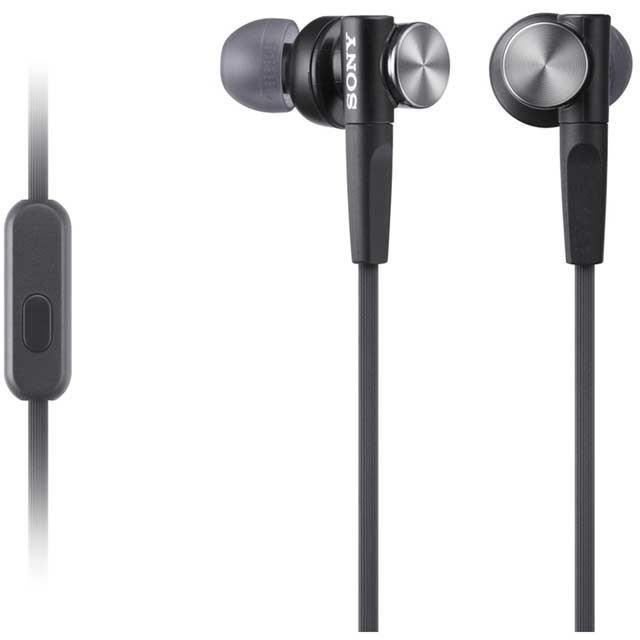 Sony MDR-XB50APB In-Ear Headphones - Black