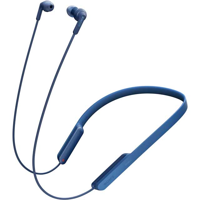 Sony MDR-XB70BTL In-Ear Wireless Headphones - Blue