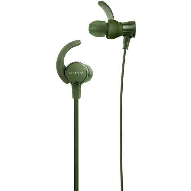 Sony MDRXB510ASG In-Ear Sports Headphones - Green - MDRXB510ASG - 1