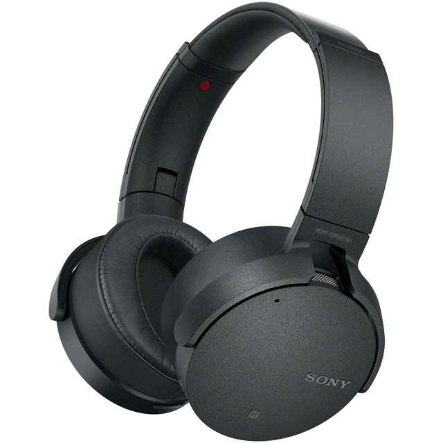 Sony MDRXB950N1B Over-Ear Wireless Headphones - Black - MDRXB950N1B - 1