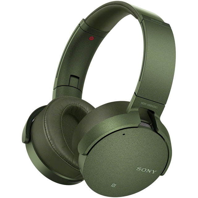 Sony MDRXB950N1G Over-Ear Wireless Headphones - Green - MDRXB950N1G - 1