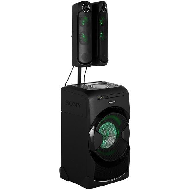 sony mhc gt4d 600 watt high power hi fi system bluetooth hi fi system black new 4548736018020 ebay. Black Bedroom Furniture Sets. Home Design Ideas