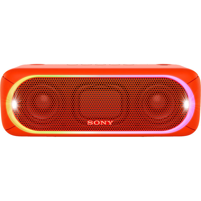 Sony SRS-XB30 Portable Wireless Speaker - Red