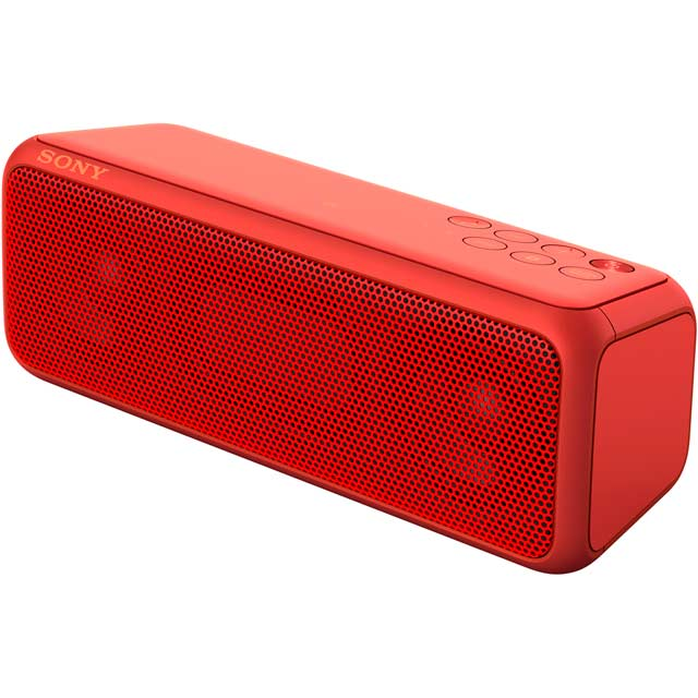 Sony SRS-XB3 Portable Wireless Speaker - Red