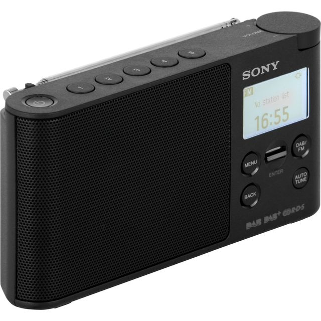 Sony XDRS41DB.CEK DAB / DAB+ Digital Radio with FM Tuner - Black - XDRS41DB.CEK - 1