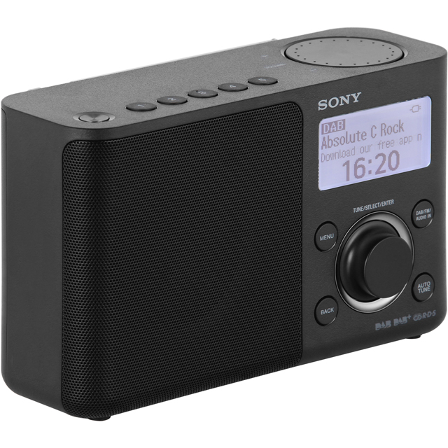 Sony XDRS61DB.CEK DAB / DAB+ Digital Radio with FM Tuner