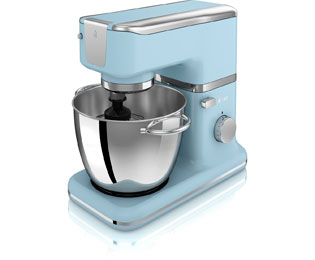 Swan Retro SP21010BLN Stand Mixer With 4.5 Litre Bowl - Blue