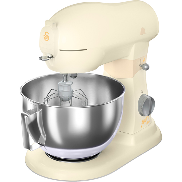 Swan Fearne By Swan SP32010HON Stand Mixer with 6 Litre Bowl - Honey - SP32010HON_HY - 1