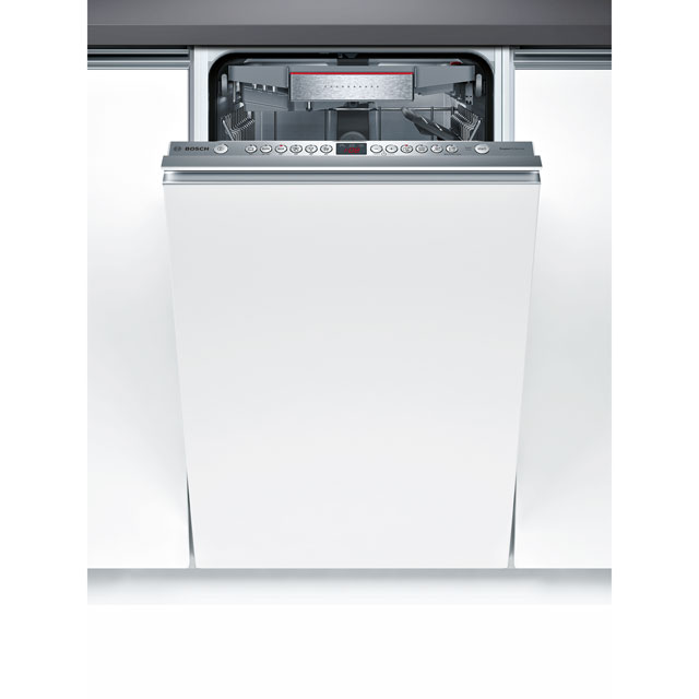 Bosch Serie 6 SPV66TX00G Fully Integrated Slimline Dishwasher - Stainless Steel - SPV66TX00G_SS - 1