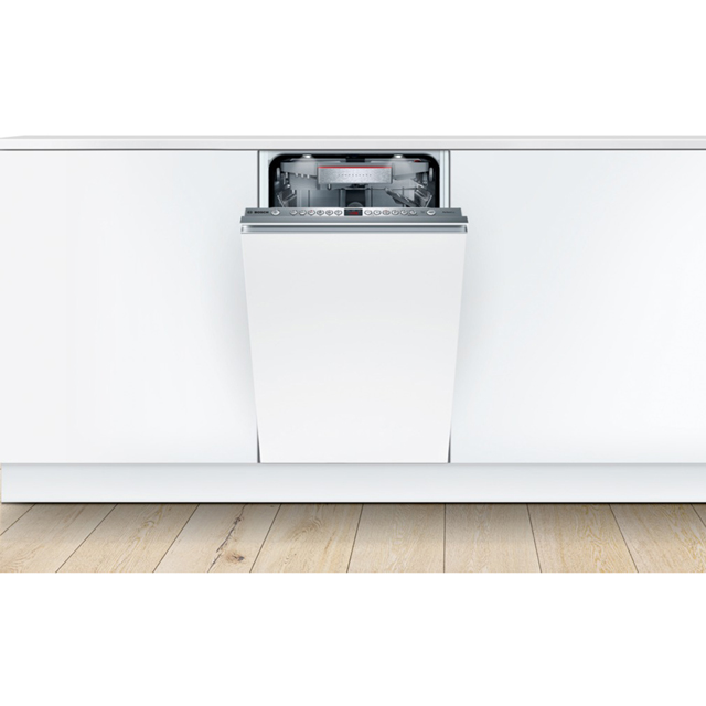 Bosch Serie 6 SPV66TX01E Fully Integrated Slimline Dishwasher - Stainless Steel - SPV66TX01E_SS - 4