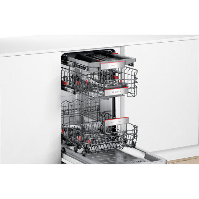 Bosch Serie 6 SPV66TX01E Fully Integrated Slimline Dishwasher - Stainless Steel - SPV66TX01E_SS - 5