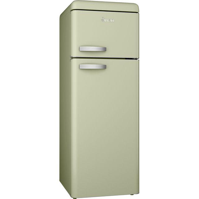Swan SR11010GN Retro Fridge Freezer - Green