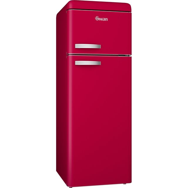 Swan Retro SR11010RN Fridge Freezer - Red