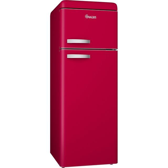 Swan SR11010RN Retro Fridge Freezer - Red