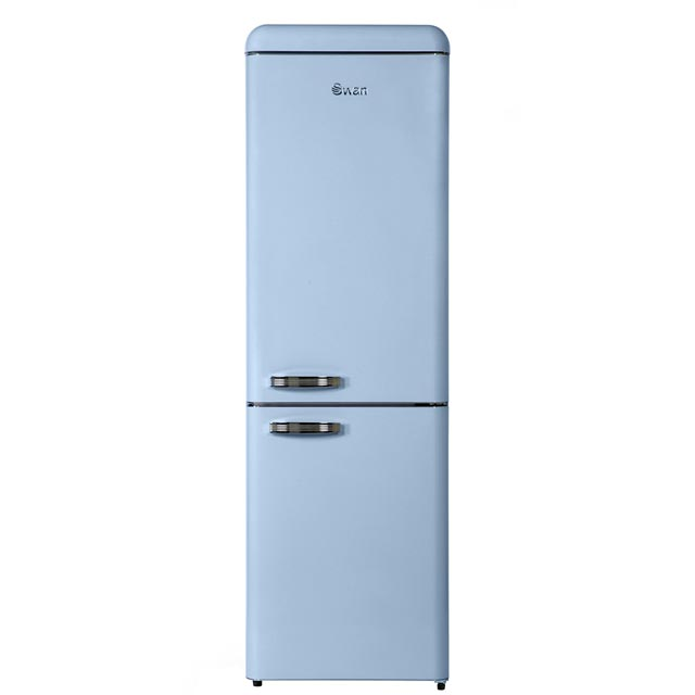 Swan 70/30 Frost Free Fridge Freezer - Blue - A++ Rated